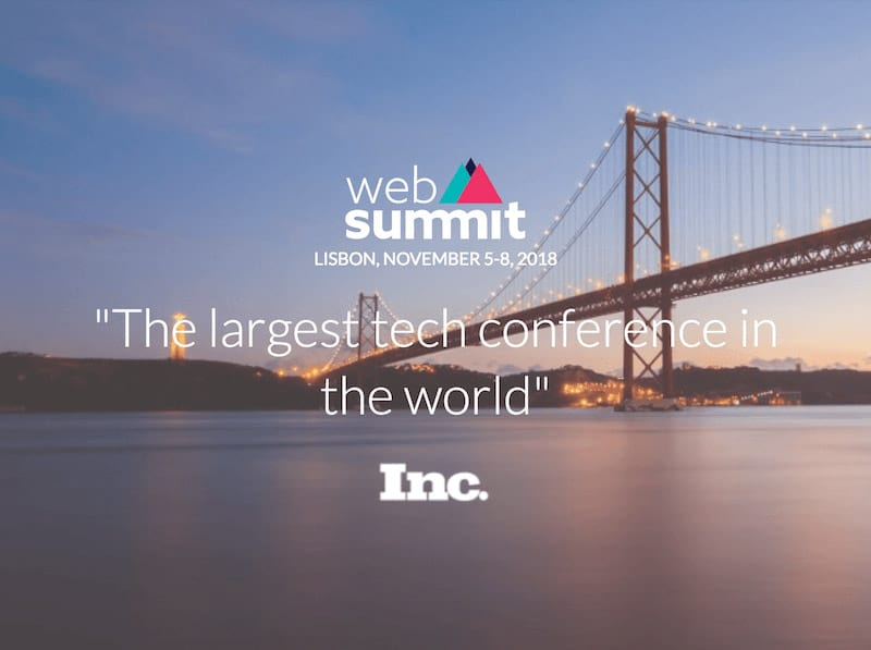 Web Summit, Altice Arena, November 5-8, Lisbon Portugal