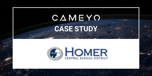 Image for a Cameyo case study on Homer Central School District