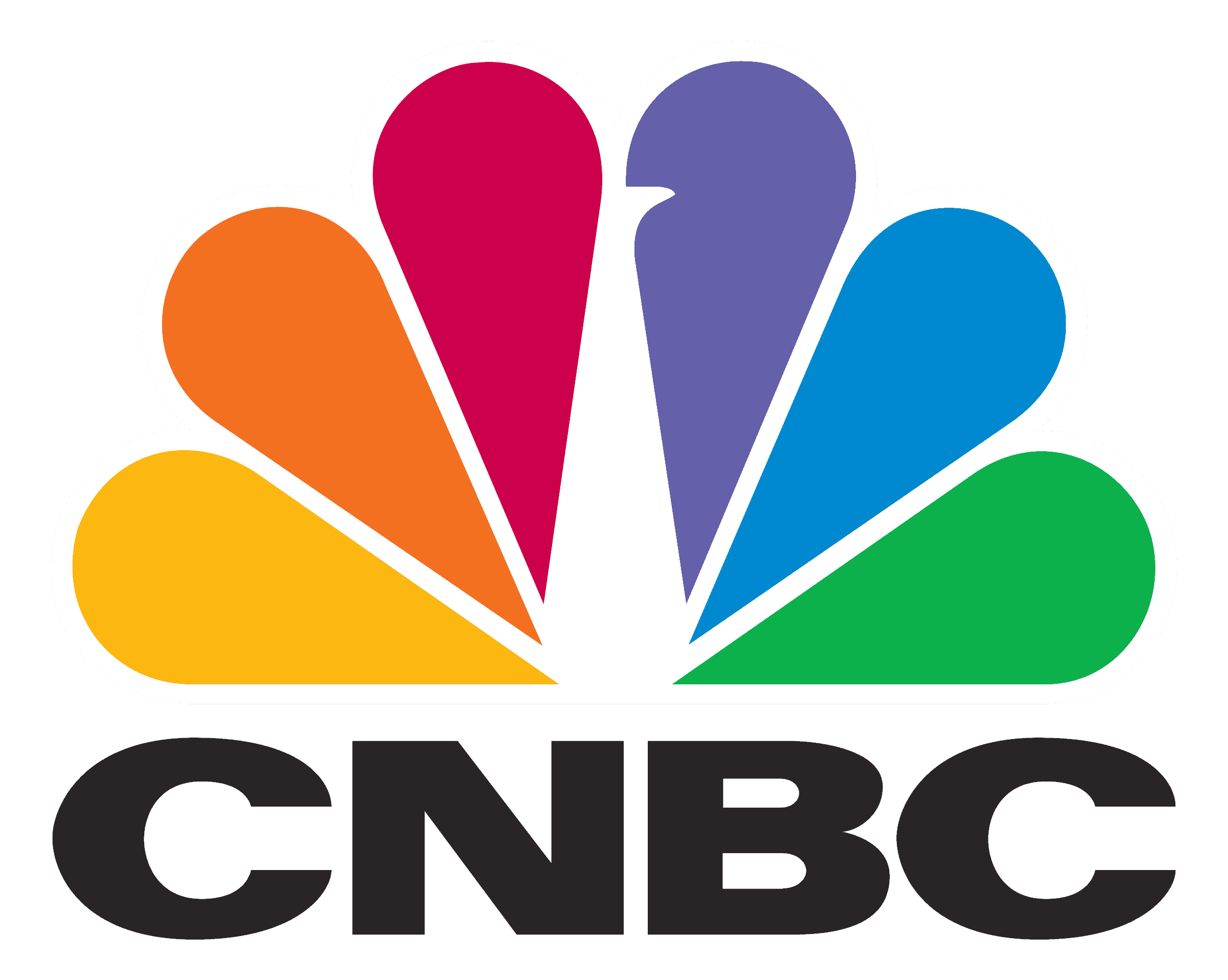 CNBC logo transparent version